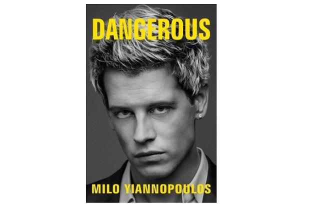 Milo Yiannopoulos timeline dangerous simon & schuster