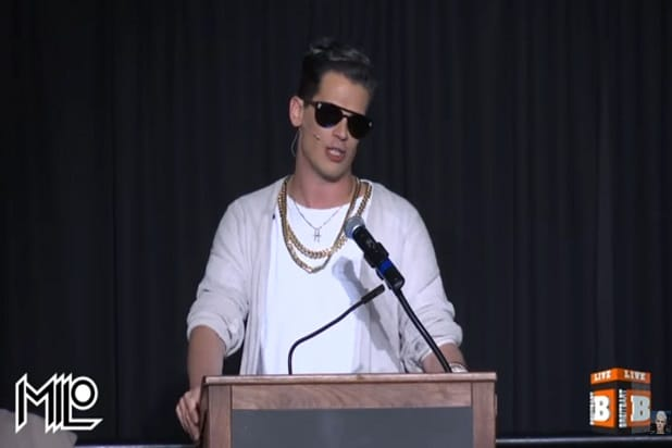Free Speech Week Milo