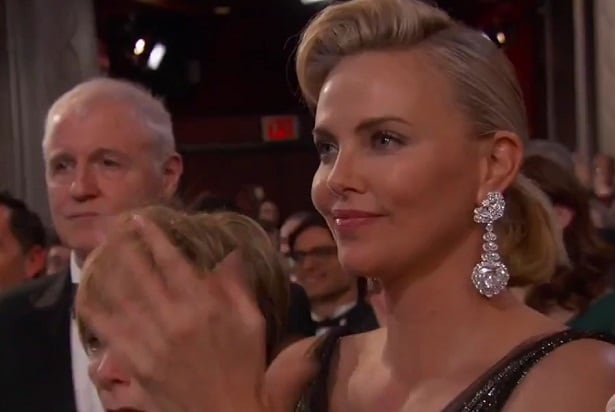 moonlight win charlize theron oscars 2017