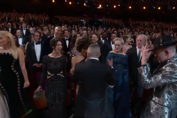 oscars academy awards timberlake can't stop the feeling meryl streep hally berry