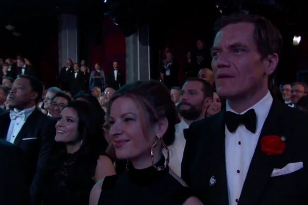 oscars academy awards timberlake can't stop the feeling michael shannon