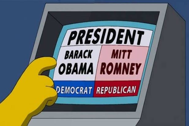 simpsons voting