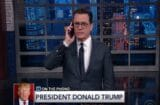 stephen colbert donald trump call