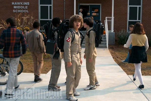 stranger things teaser season 2 ghostbusters super bowl trailer