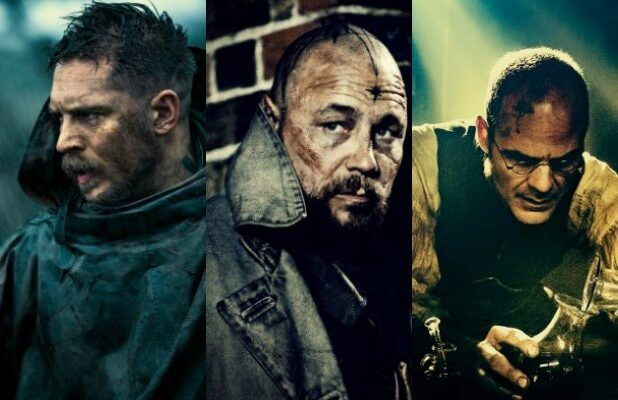 taboo main characters ranked by how dirty they are tom hardy michael kelly