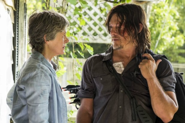 the walking dead carol daryl season 7 new best friends