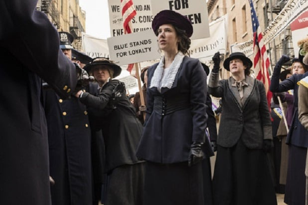 timeless alice paul women's suffrage history alterations time travel
