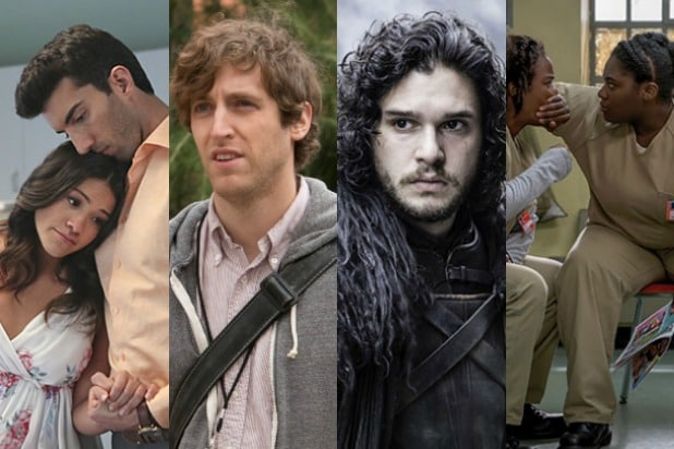 tv shows you should binge watch right now game of thrones silicon valley orange is the new black jane the virgin