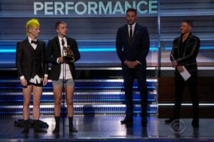 twenty one pilots grammys no pants