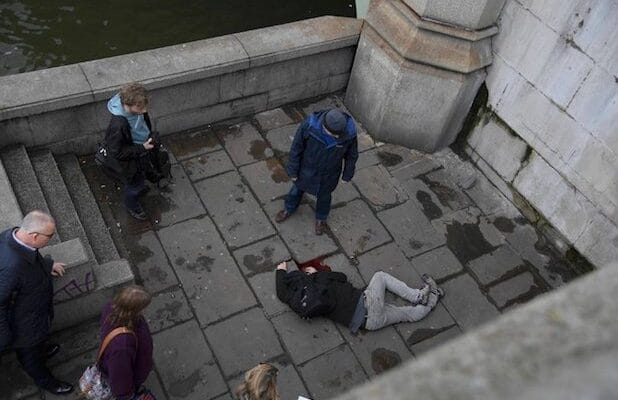 parliament shooting nytimes