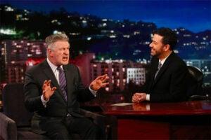 Alec Baldwin on Jimmy Kimmel