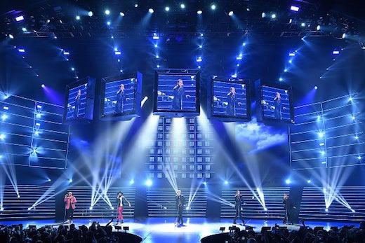 Backstreet Boys Vegas Planet Hollywood