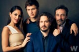Eiza González, Ansel Elgort, Edgar Wright and Jon Hamm, 'Baby Driver'