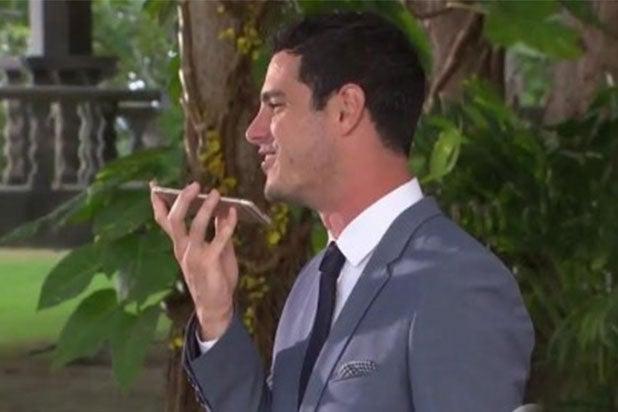 Ben Higgins Phone Bachelor