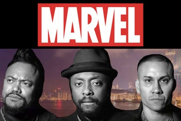 Black Eyed Peas Marvel