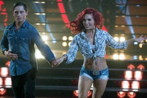 Bonner Bolton and Shauna Burgess DWTS