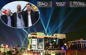 TAO Group's Noah Tepperberg, Pavan Pardasani, and Jason Strauss and team celebrated the opening of their new entertainment block in Hollywood on Thursday, March 16. (Instagram (2))