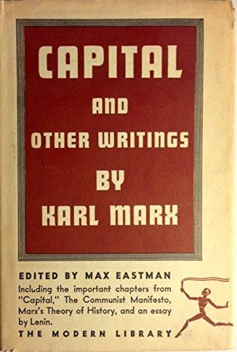 Capital and other writings by karl marx the americans pastor tim paige