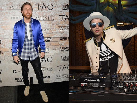 David Guetta, DJ Cassidy - Tao Opening - Getty Images