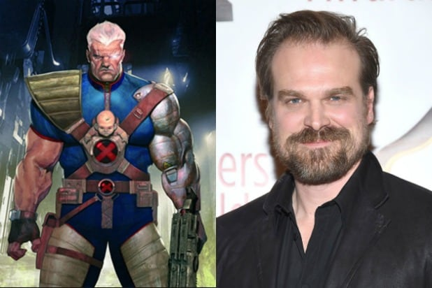 David Harbour Cable Deadpool 2
