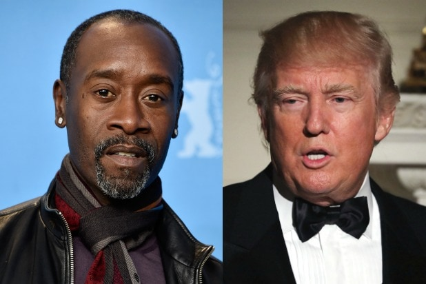 Don Cheadle Donald Trump