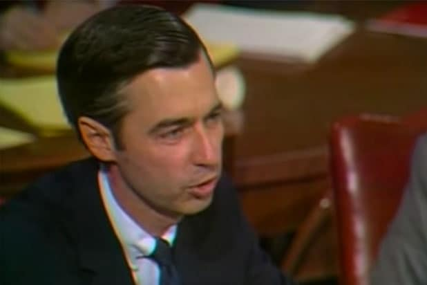 Watch Mister Rogers Heart Melting Plea To Save Federal Funding For Pbs Video
