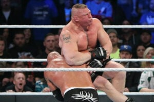 Goldberg vs. Brock Lesnar