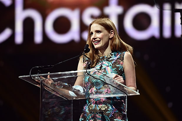 Jessica Chastain CinemaCon