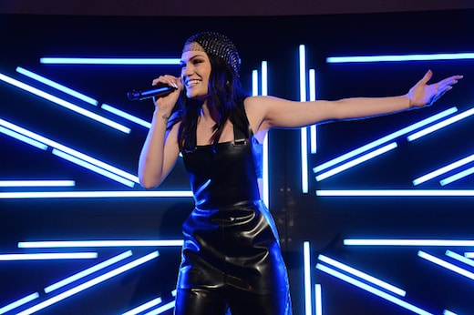 WEST HOLLYWOOD, CA - FEBRUARY 24: Singer Jessie J performs onstage during Film is GREAT Reception honoring the British Nominees of the 89th Annual Academy Awards Sponsored by British Airways at Fig & Olive on February 24, 2017 in West Hollywood, California. (Photo by Michael Kovac/Getty Images for The GREAT Britain Campaign)