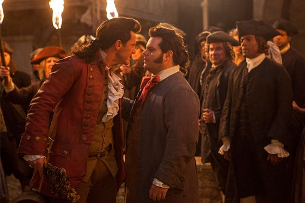 Josh Gad Luke Evans Beauty and the Beast