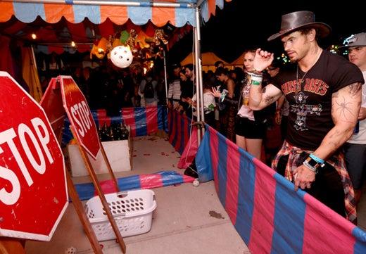 Kellan Lutz Neon Carnival