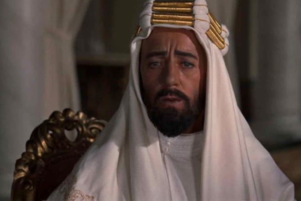 lawrence of arabia prince faisal whitewashing