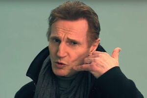 Liam Neeson Stephen Hawking