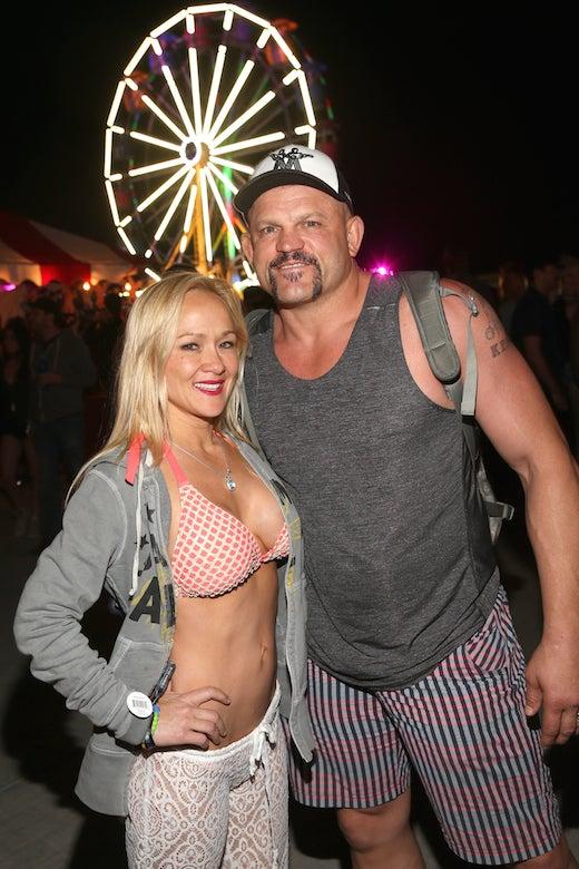Heidi Northcott Chuck Lidell Neon Carnival