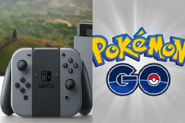 Nintendo Switch Pokemon Go