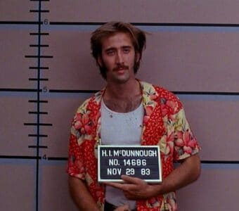 Raising Arizona Nicolas Cage