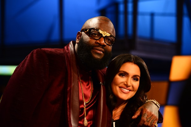 Rick Ross and Molly Qerim
