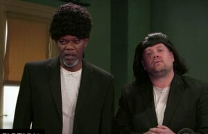 Samuel L. Jackson on 'The Late Late Show'