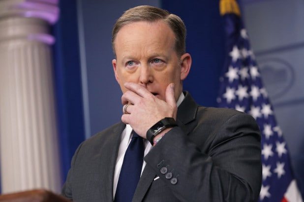 Sean Spicer - sadly - says 'no' to 'Dancing With the Stars'