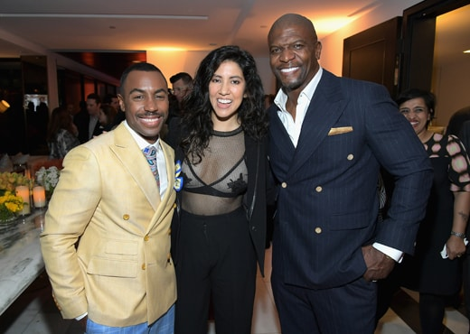 Prentice Penny, Actors Stephanie Beatriz and Terry Crews