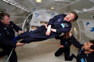 Stephen Hawking Zero Gravity