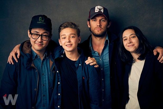 Christopher Radcliff, James Freedson, Alex Pettyfer and Lauren Wolkstein, 'The Strange Ones'