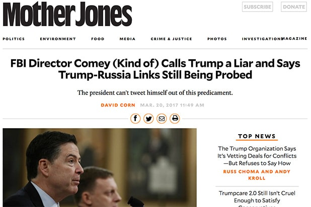 Trump Lie Mother Jones