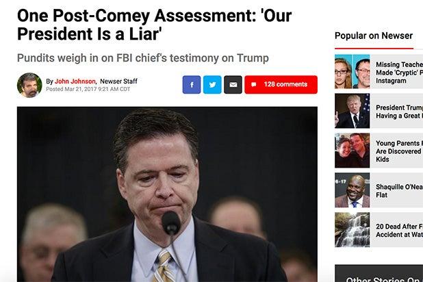 Trump Lie Newser