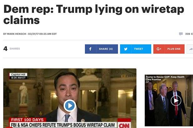 Trump Lie The Hill