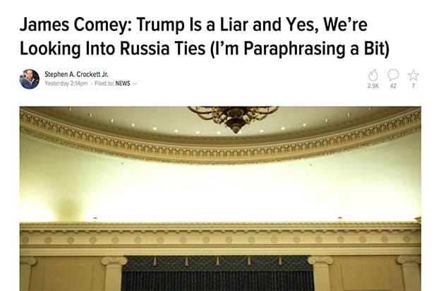 Trump Lie The Root