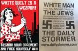 adl white supremacist propoganda racism