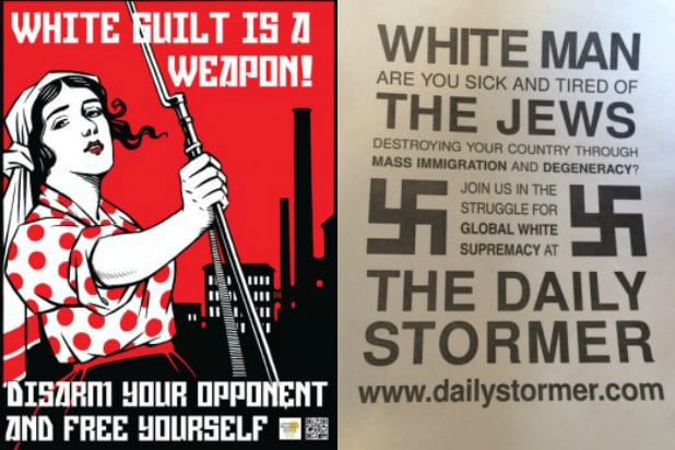 White Supremacists Target American Campuses with Flyer Campaigns