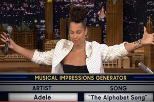 alicia keys tonight show adele