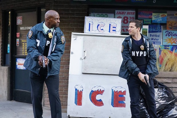 brooklyn nine-nine Terry Crews Andy Samberg